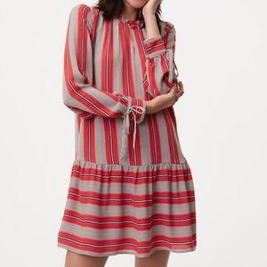 Ann Taylor Loft Long Sleeve swing Dress